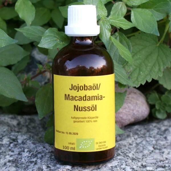 Bio - Jojobaöl + Macadamiaöl (100ml)