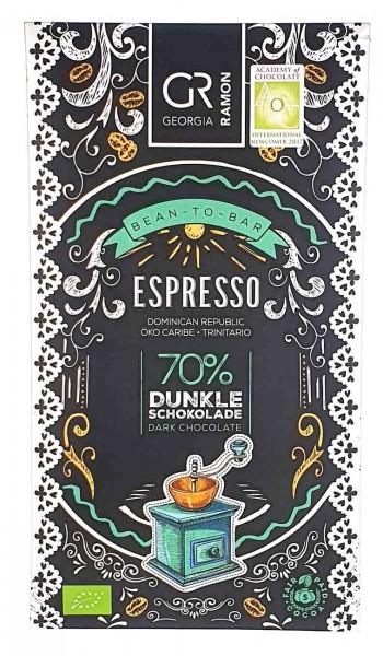 Bio Schokolade Espresso 70%