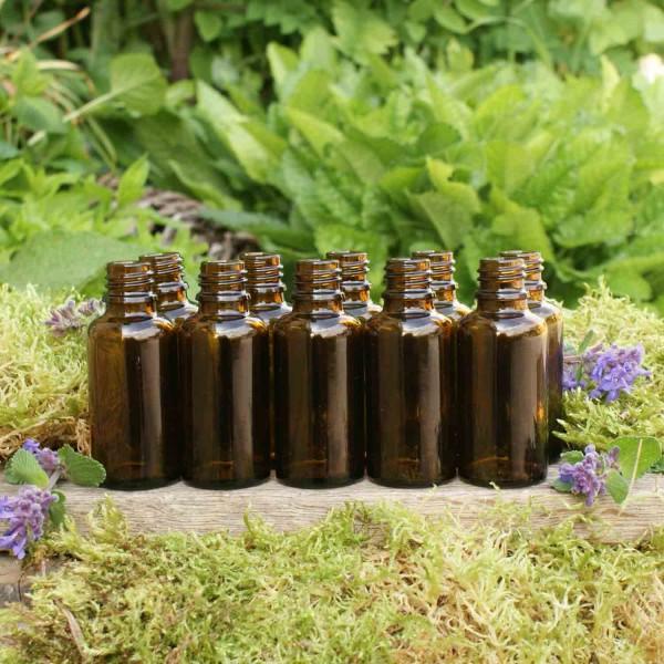 Braunglasflaschen 30 ml (10 Stk.)