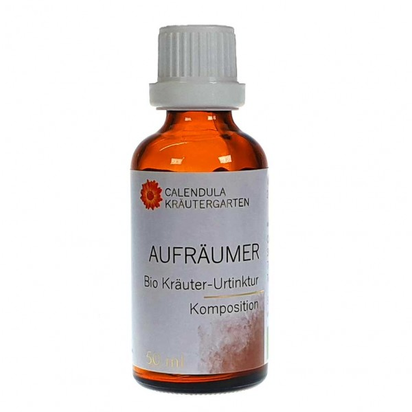 Aufräumer Bio Kräuter-Urtinktur - Komposition