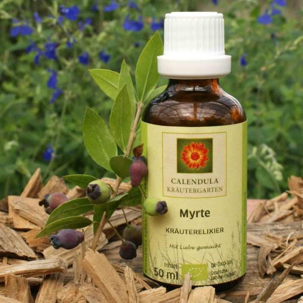 Myrte Bio-Kräuterelixier Myrtus communis