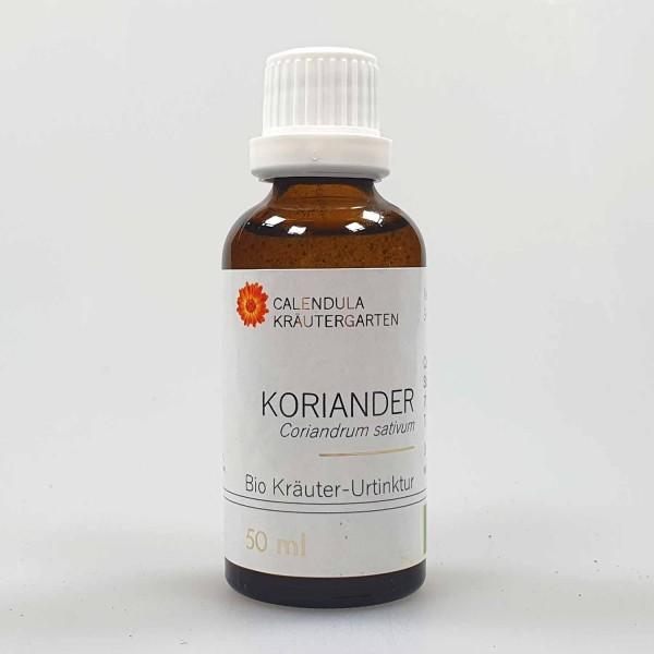 Koriander Bio Kräuter-Urtinktur Coriandrum sativum